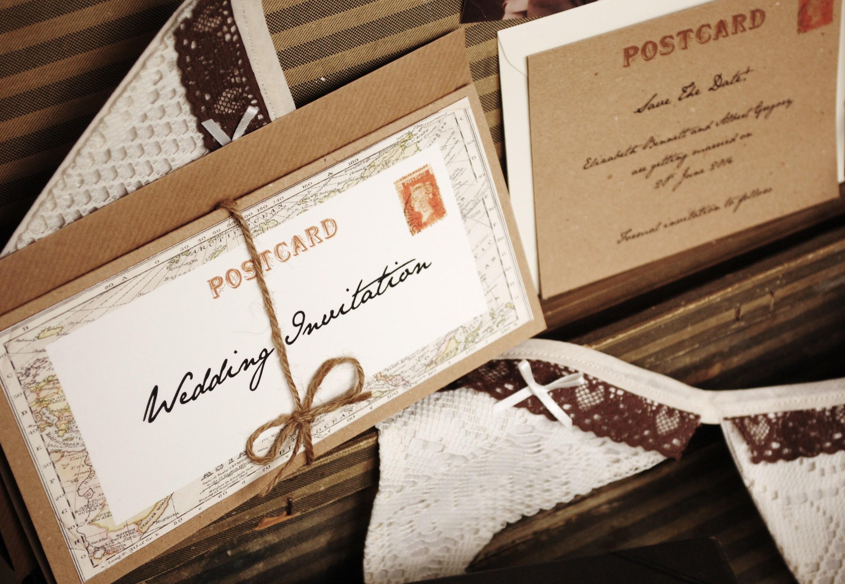 Vintage-Travel-Wedding-Invitation - WeddingDates.co.uk Blog