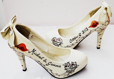 Wedding Shoes: Beautiful Moment