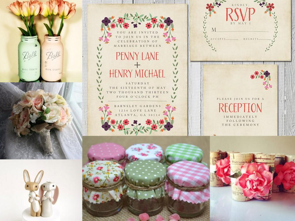 Spring Wedding Mood Board - WeddingDates.co.uk Blog