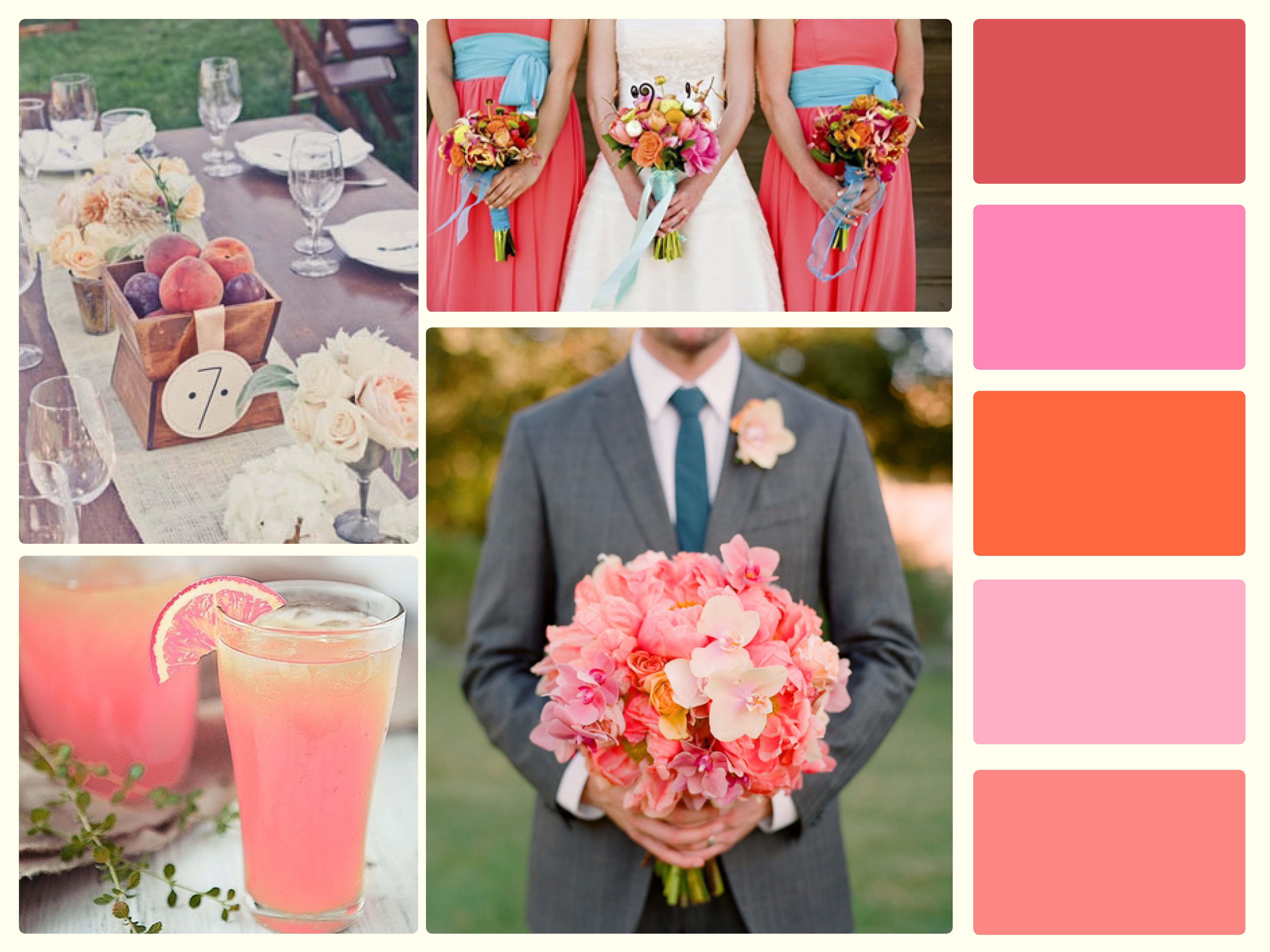 peach colour palette