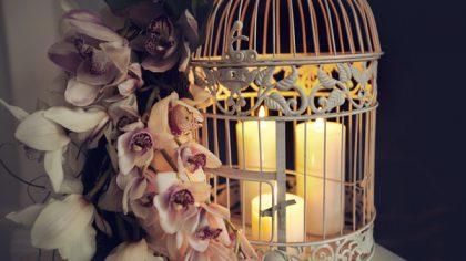 lantern wedding centre piece