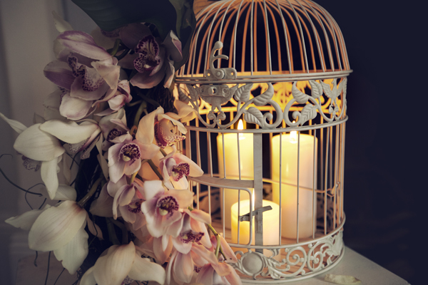 lantern wedding centre piece