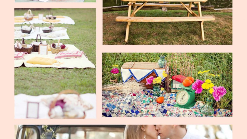 Picnic Themed Wedding