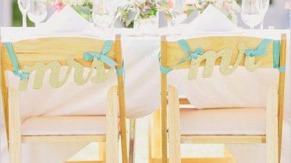 Wedding Décor: Chair Covers