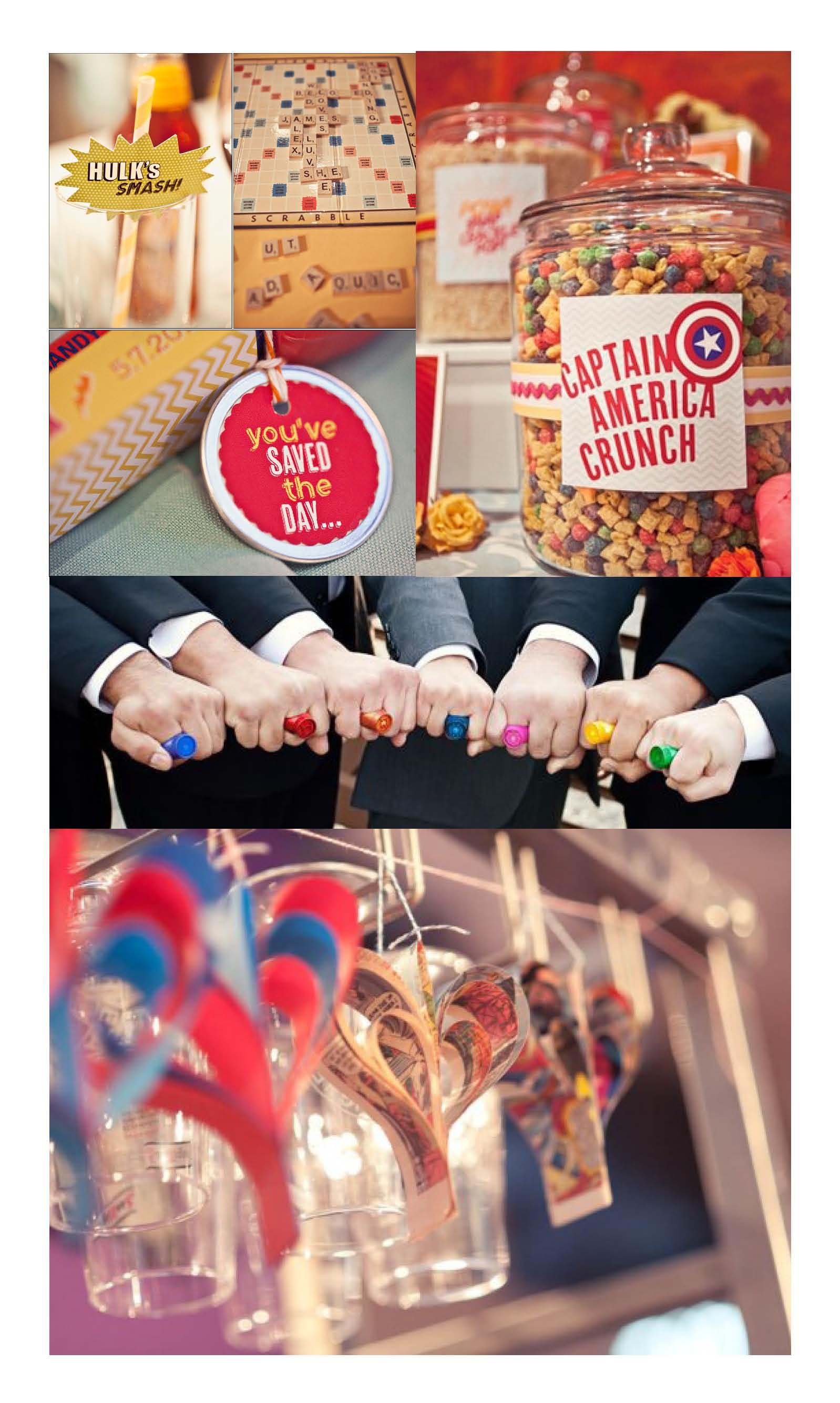 Quirky Wedding Theme: Superheroes