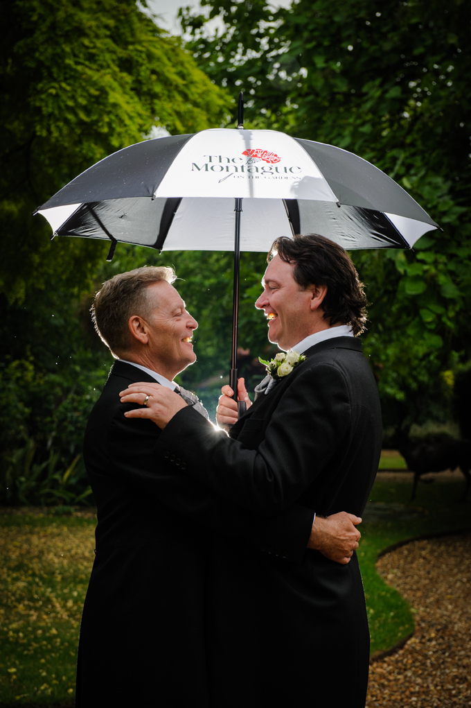 Adorable London Real Wedding: Brian & Robert