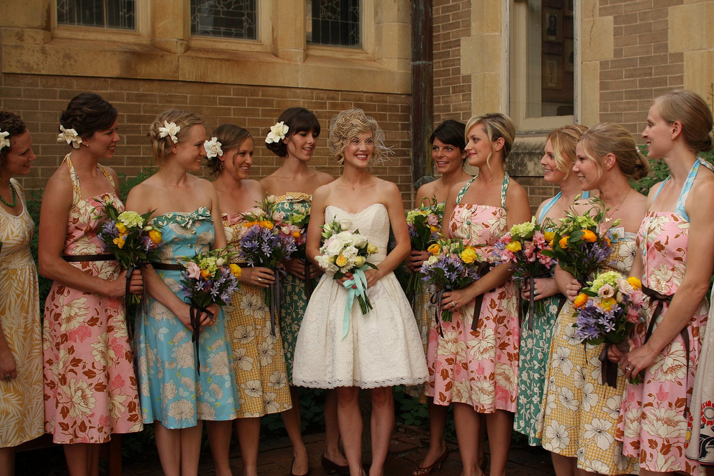 How to do Mismatched Bridesmaid Dresses