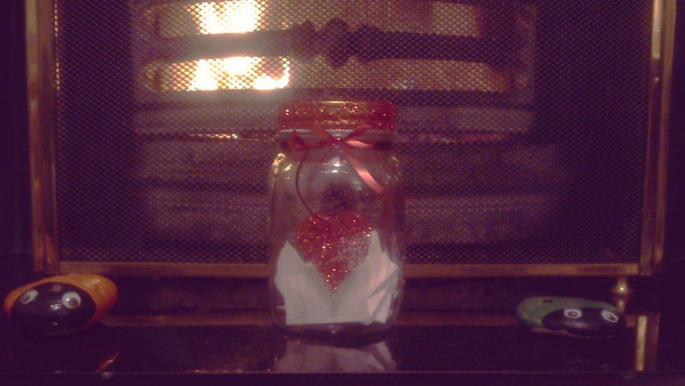 Diy d cor memory jar full of joy weddingdates blog Diy home decor blog uk