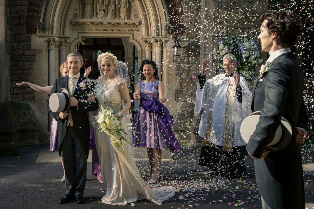 New Year's Day Watching: Sherlock Giving Speech at Watson's Wedding