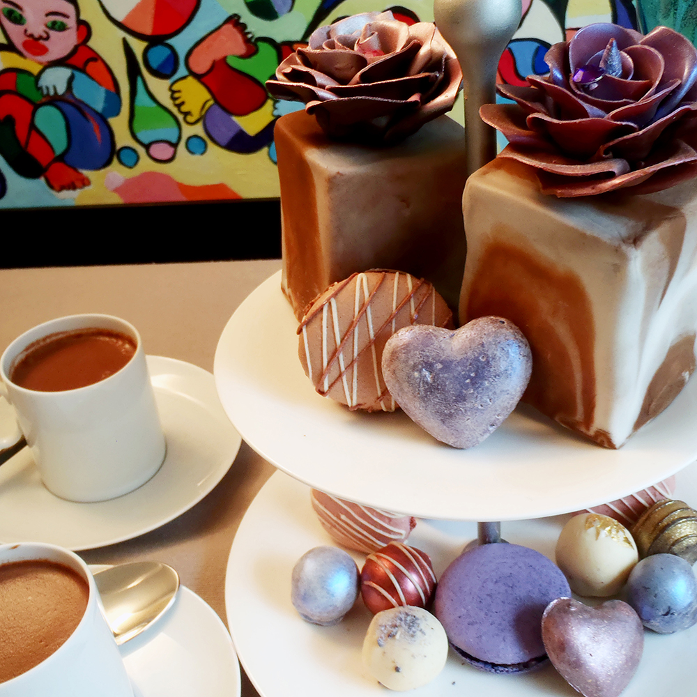 Hen Party Idea: The Chocoholic's Afternoon Tea