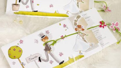 5 Unusual Examples Of Wedding Stationery