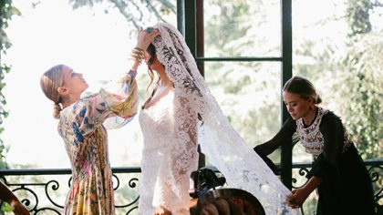 The Olsen Twins Have Designed a Wedding Dress