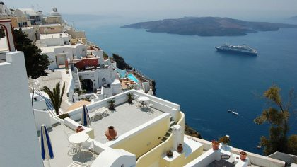Santorini - Photo courtesy Dave Berezansky Flickr