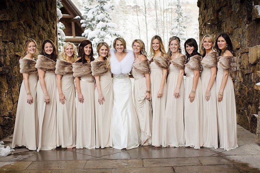 Winter Wedding Photo Ideas