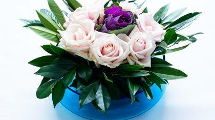 Easy Floral Centrepiece