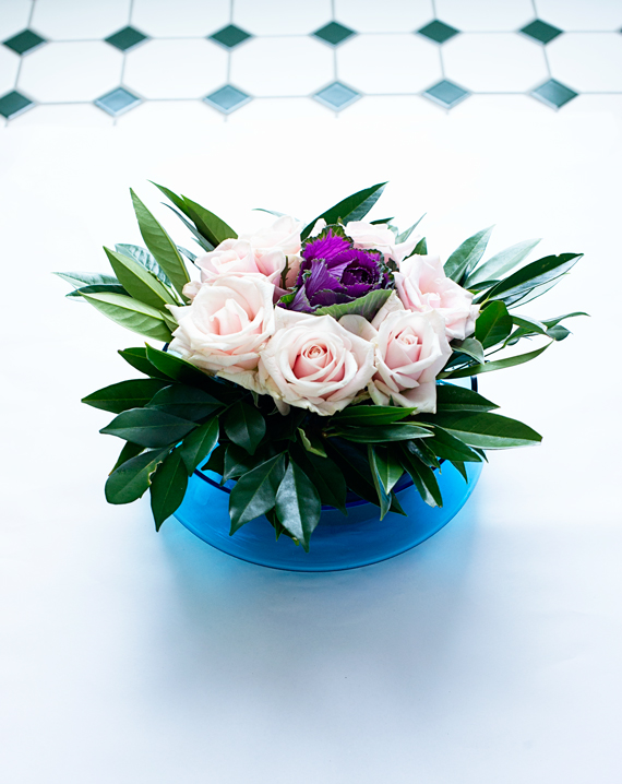 Easy Floral Centrepiece
