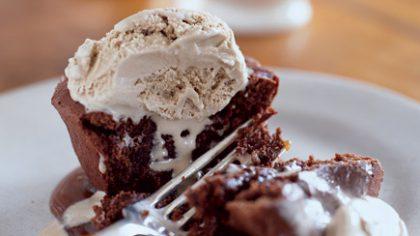 Sunday Treat: Individual Chocolate Melting Cakes
