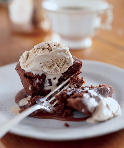 Sunday Treat: Individual Chocolate Melting Cakes