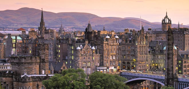 Staycation Honeymoon Destinations: Edinburgh, Scotland