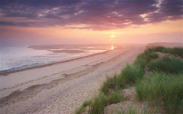 Staycation Honeymoon Destinations - Holkham, England
