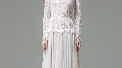 Wedding Dress: Katya Katya Shehurina 'Feather' Bridal Collection