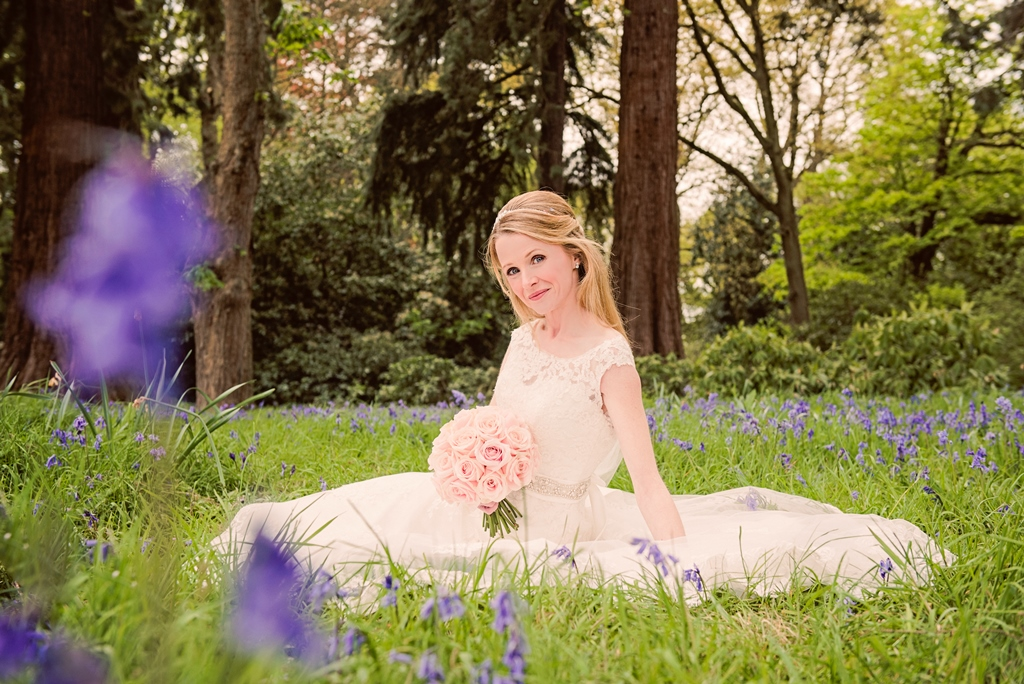 Linda & Steve's Spring Wedding At Tylney Hall