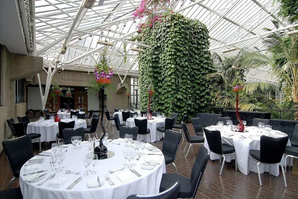 Bring The Outside Inside At The Barbican - WeddingDates