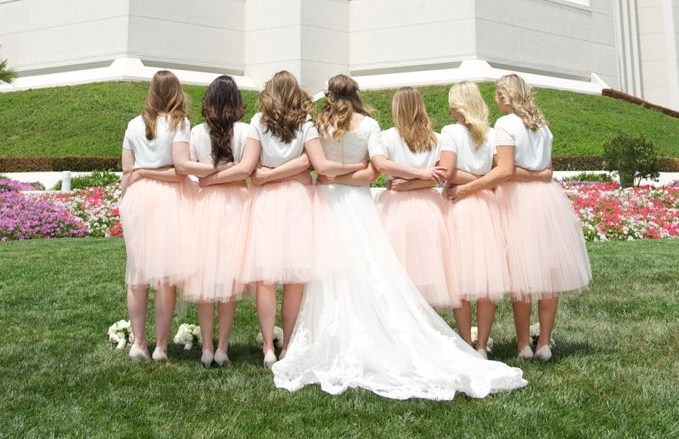 Bridesmaids Tulle Skirts