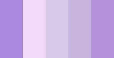 Purple Colour Palette