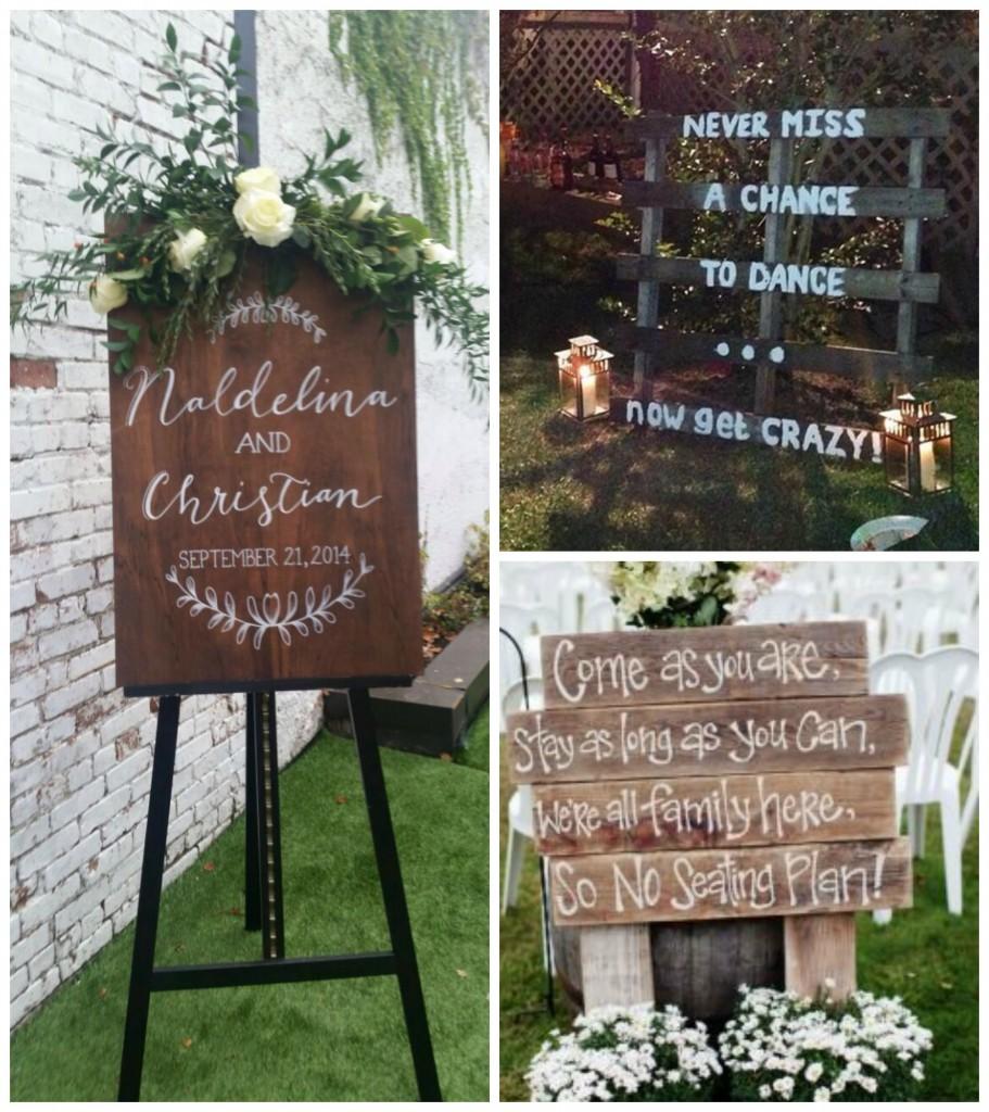secret garden signs, quirky garden props for your outdoor wedding - weddingdates, Design ideen