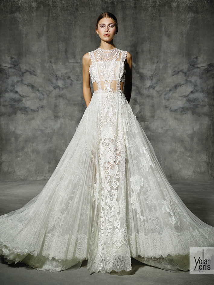Lace wedding dress. New Bridal Collection 2016