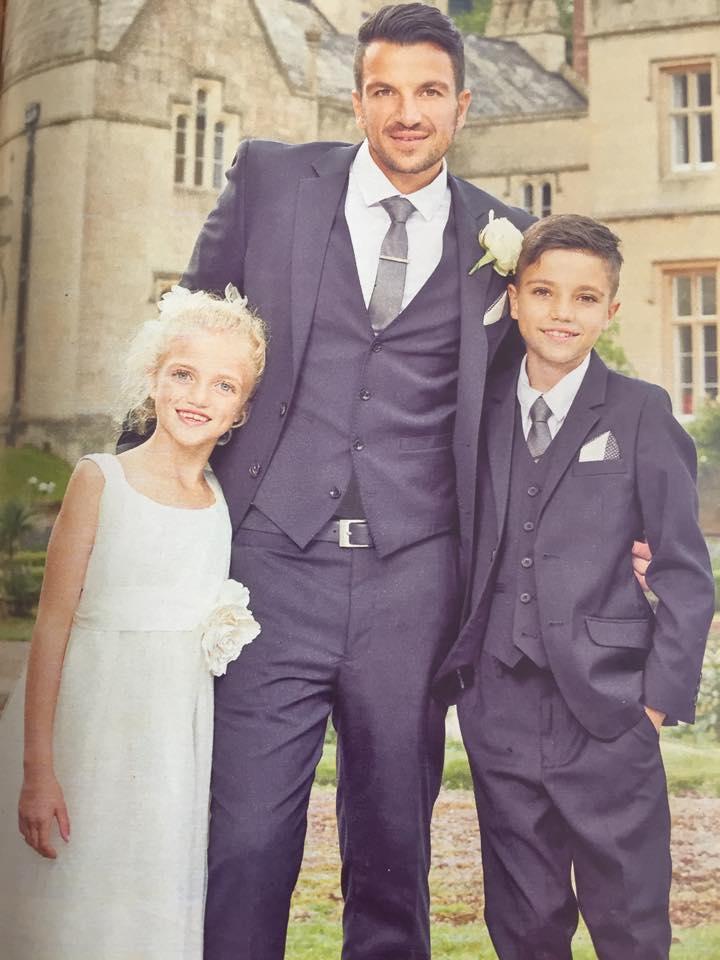 Peter with Princess & Junior