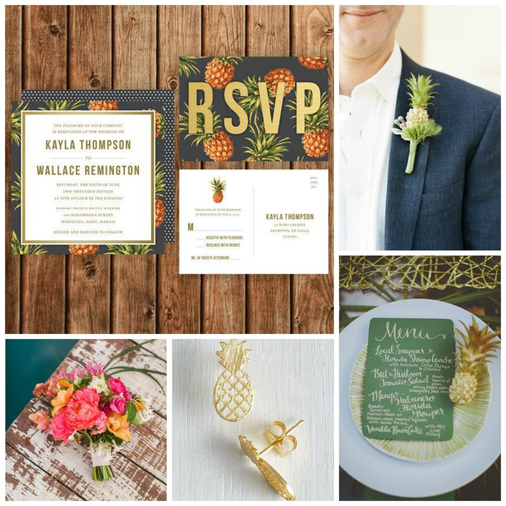 Tropicana Wedding Inspiration