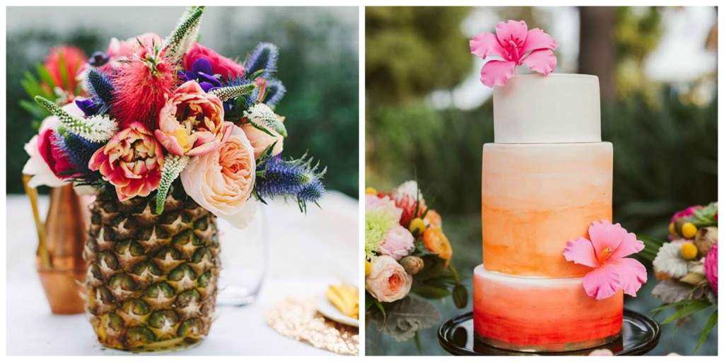 A Dreamy Tropical Wedding