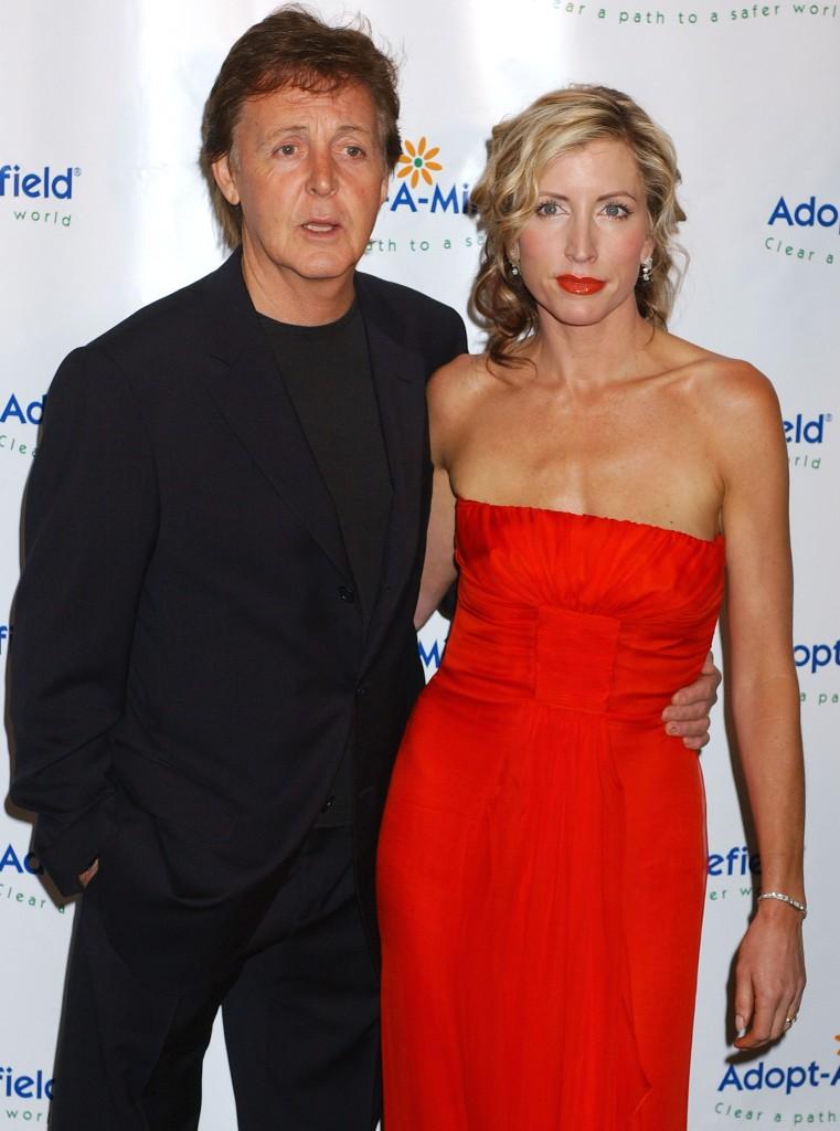 Paul McCartney & Heather Mills