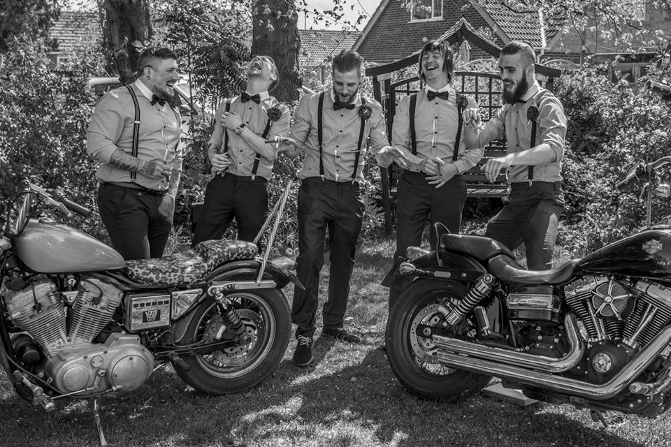 Charlotte & Rob's Fabulously Funky Rockabilly Wedding