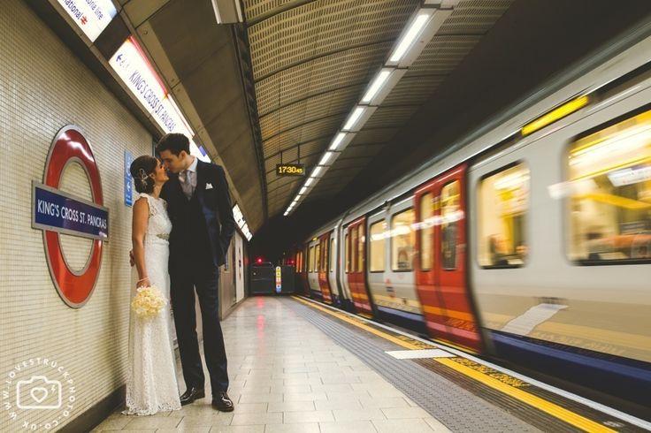A London Underground Wedding Love Struck Photography