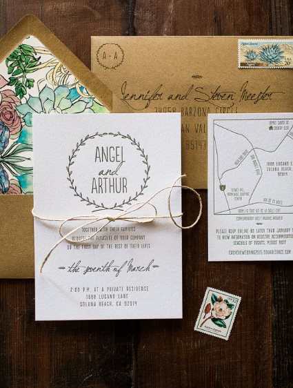 5 Things To Include In Your Wedding Invitations