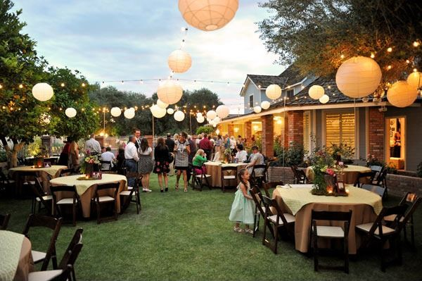 How To Plan The Ultimate Backyard Wedding