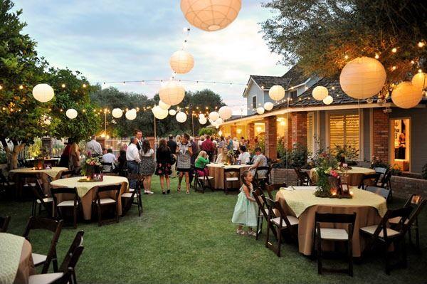 - How To Plan The Ultimate Backyard Wedding