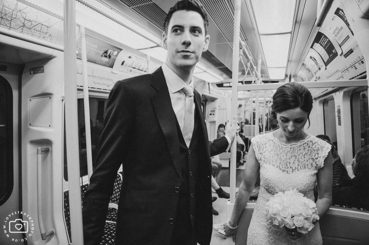 A Tube Wedding - Love Struck Photography