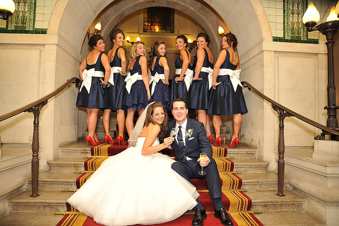 A City Chic Wedding At The Law Society