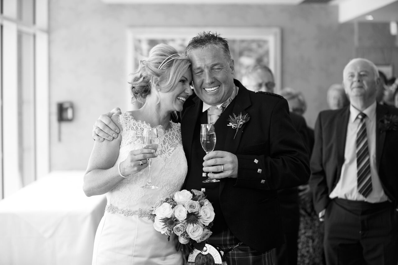 Bursting With Pride – Gillian & David Exchange Vows