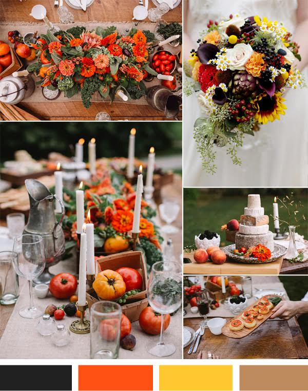 Be Inspired By An Indian Summer Wedding Palette