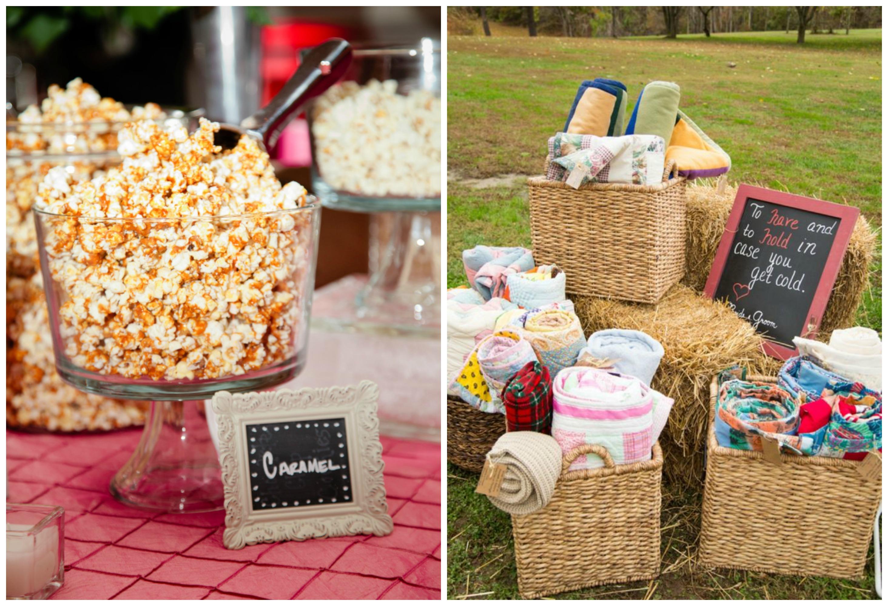 Outdoor Movie & Popcorn