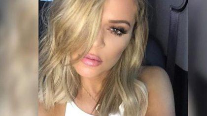 Khloe Kardashian Long Bob