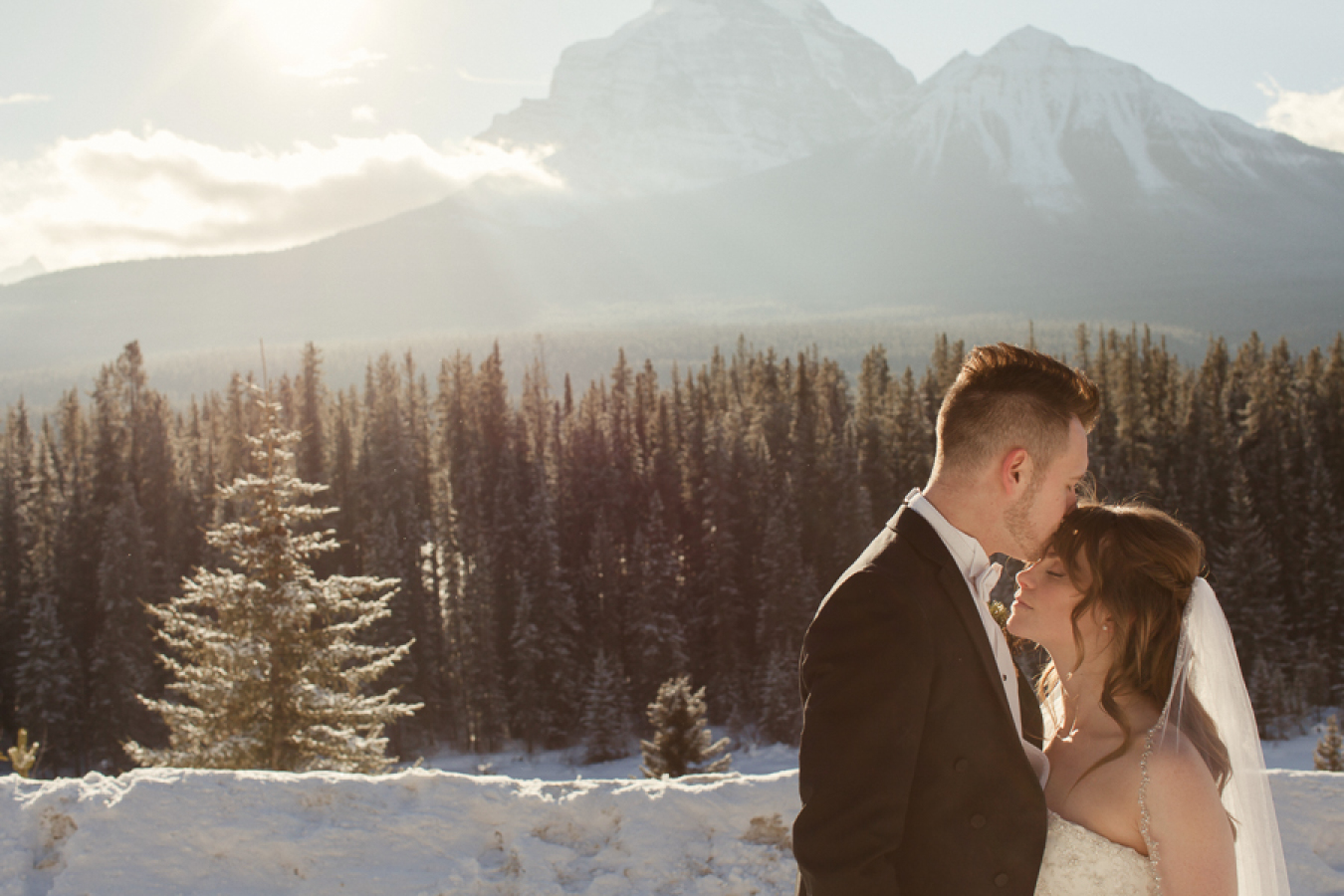 Winter Wedding Photos - Matt & Lena Photography