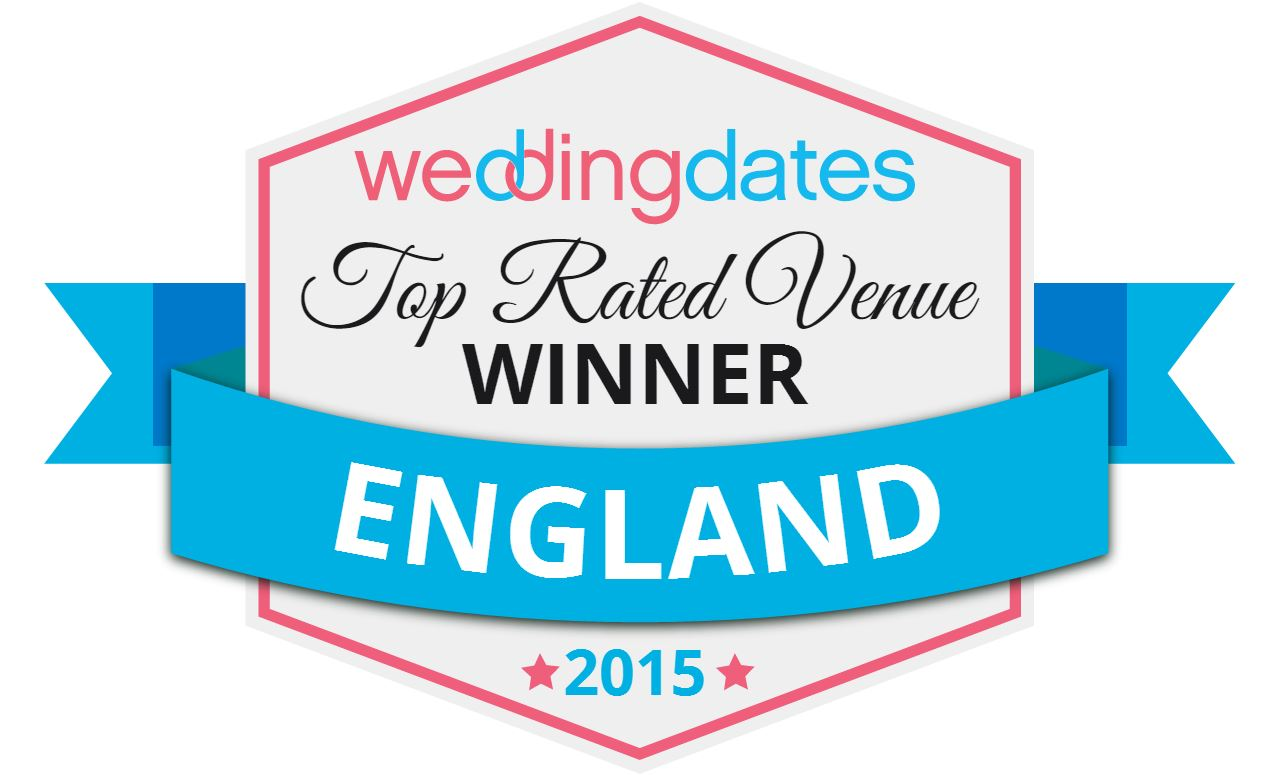 Top Rated Wedding Venues England 2015