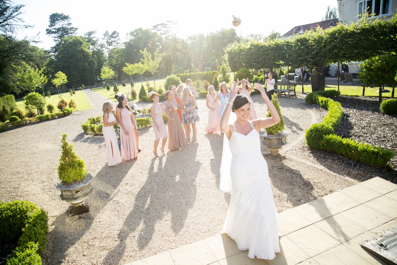Going To The Chapel: Emily & Dan's Super Stylish Day