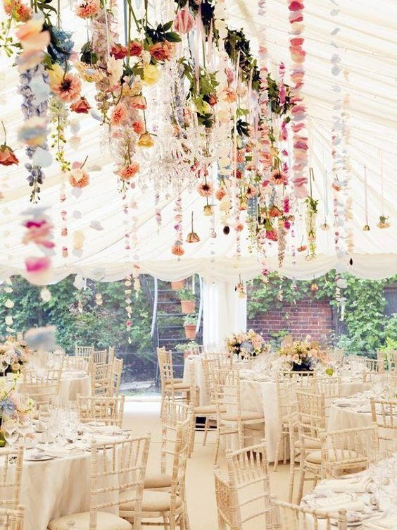 Hanging Flower Canopy